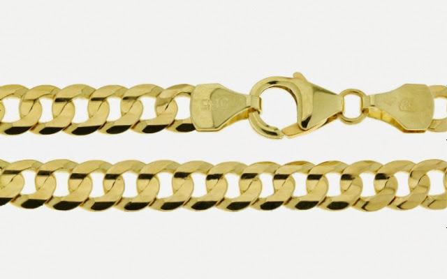 a92ca1d3f Pánský zlatý náramek Briline 3040468n | Šperky