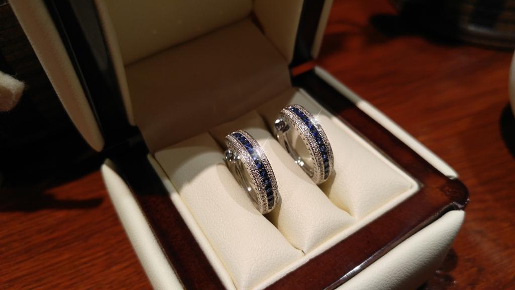 2714151da Náušnice s diamanty přírodními safíry Briline 388-0527   Šperky